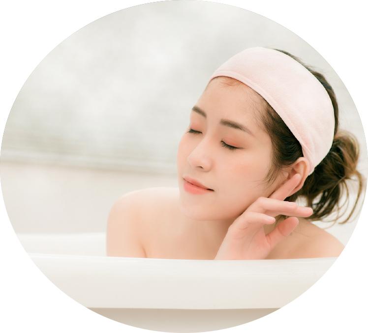 入浴による温熱効果